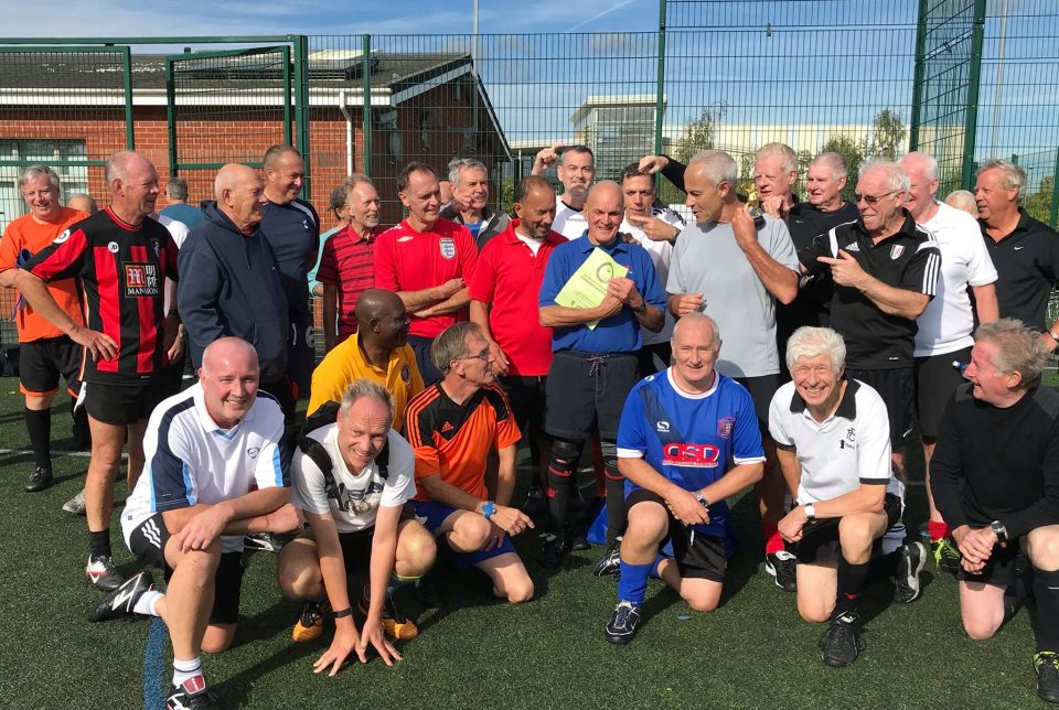 John Davis Achieves 150 Appearances at Walton Walking Football