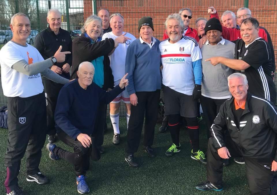 Bob Watson & Roger Atkinson – Sporting Memories MOTM – Friday 8th December 2017