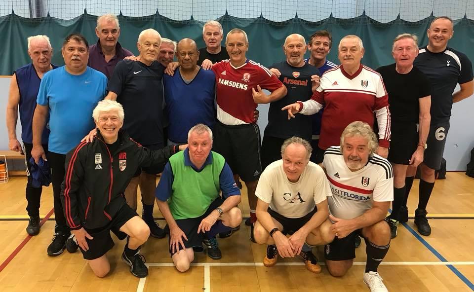 Denis Thomson & Geoff Singh - Sporting Memories MOTM - Friday 24th November 2017