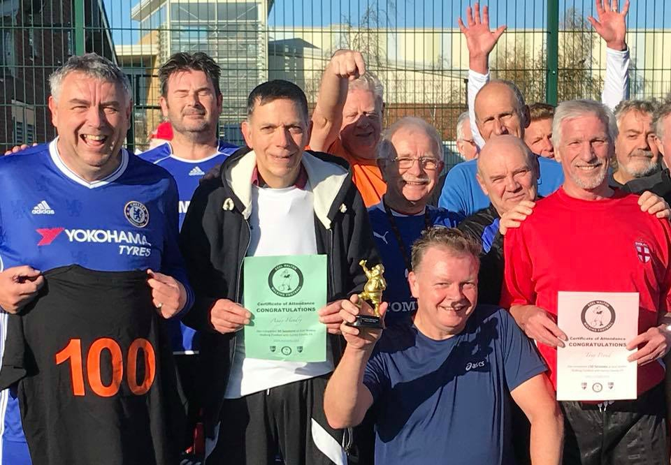 Tony Proud Achieves 150 Appearances at Walton Walking Football