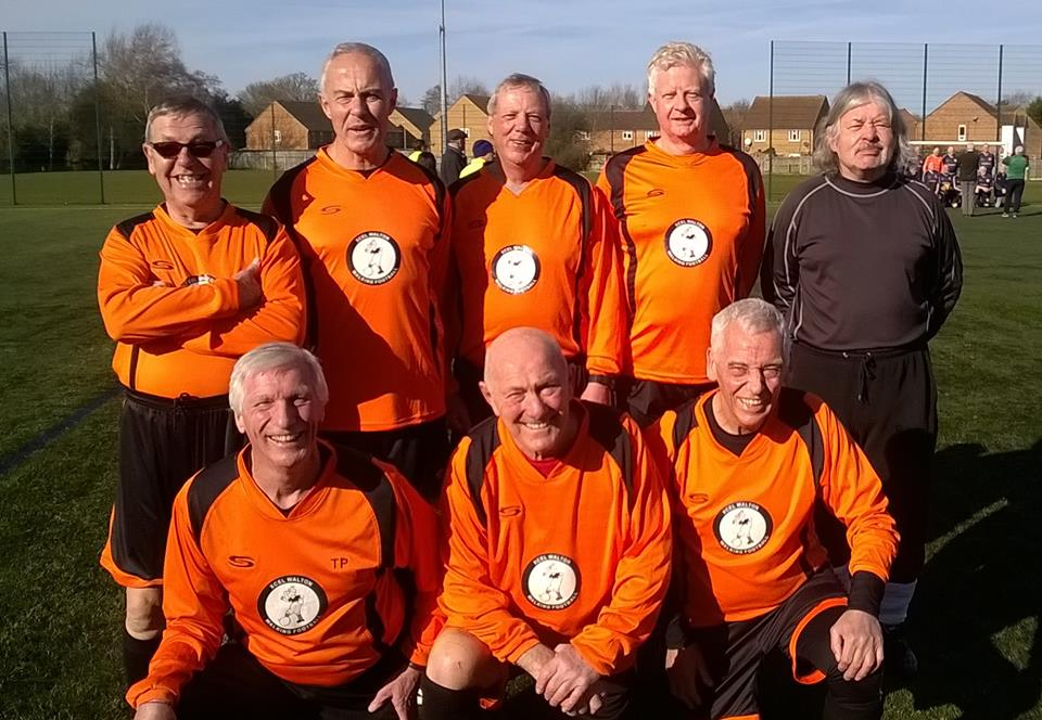 Cove FC Over 65's Tournament Team
