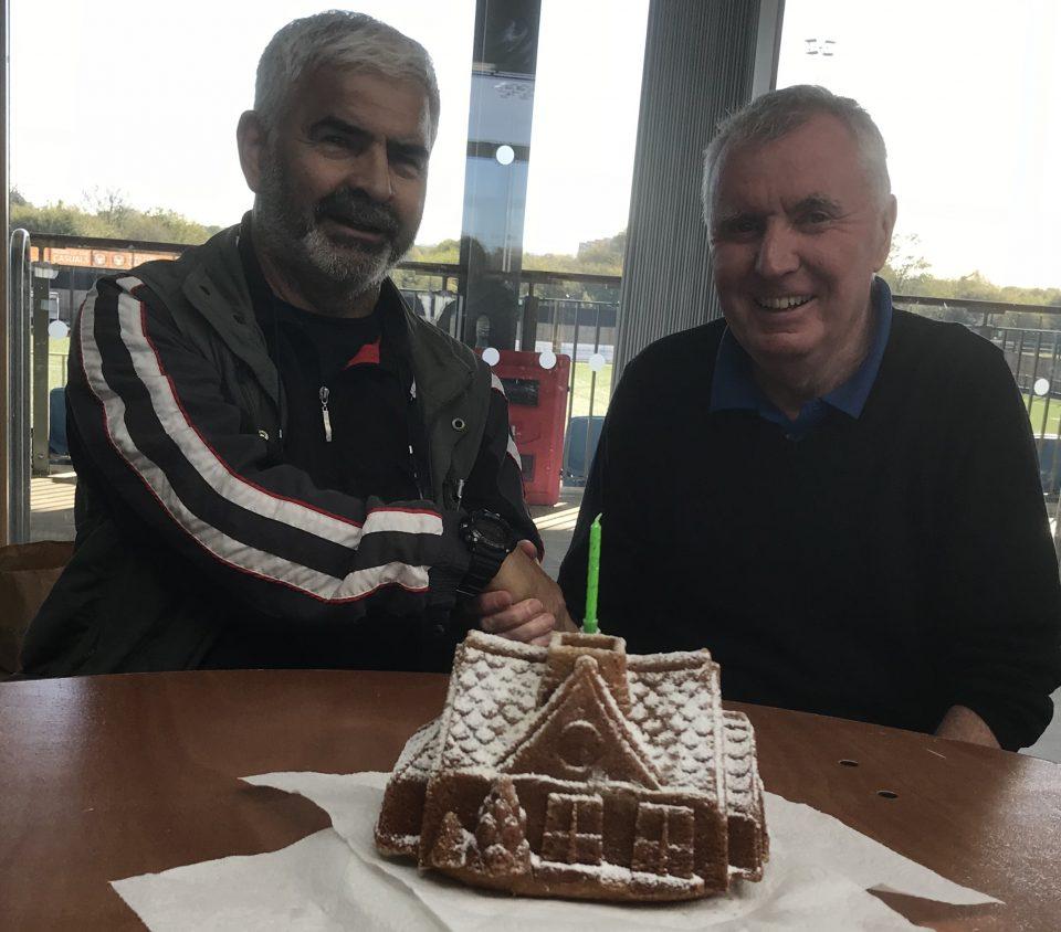 Birthday Cake for John Garvey Fri 26th Oct 2018